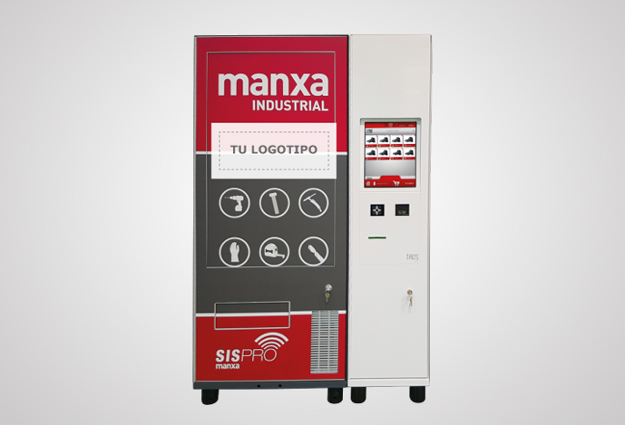 Dispensador manxa industrial