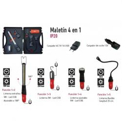 LINTERNAS LED RECARGABLE USB MLP41