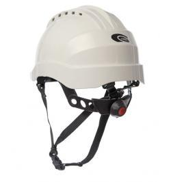 CASCO CURRO + BARBOQUEJO BLANCO