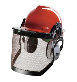 CASCO VGARD KIT FORESTAL NARANJA