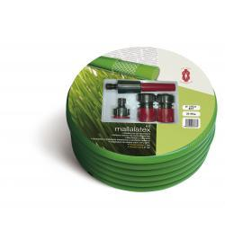 MANGUERA MALLALATEX VERDE KIT 15X21 15MT
