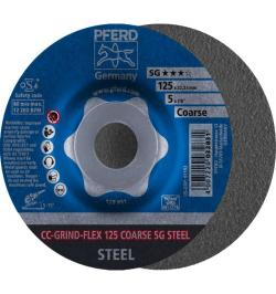 DISCO CC-GRIND-FLEX 125 SG-STEEL COARSE
