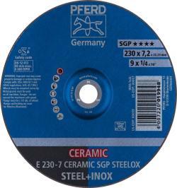 DISCO DESBASTEELE E 230-7 CERAMIC SGP STEELOX