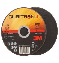 DISCO CORTE CUBITRON II 125X1MM