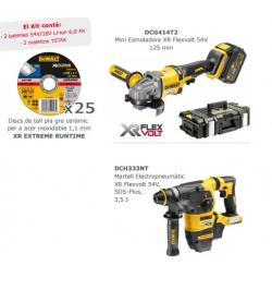 KIT XR FLEXVOLT DCG414T2+DCH333NT+DT99582