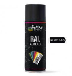 SPRAY ACRILICO 400ML RAL 9005 NEGRO