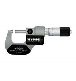 MICROMETRO EXTERIOR C/CONTADOR STANDARD GAGE 0-25MM 00114101