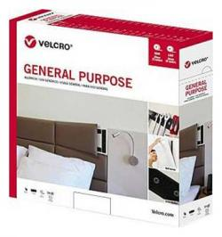 CINTA VELCRO USO GENERAL P/COSER 20MMX25MT NEGRO