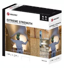 CINTA VELCRO® EXTREME STRENGTH ADHESIVO 50MMX25MT NEGRO