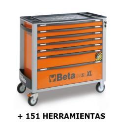 CAJONERA 2400 SAXL+151 HERRAMIENTAS 2400 SAXL/7-O BI17 ORANG