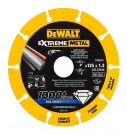 DISCO BORDE DIAMANTADO EXTREME METAL 125X1.3X22.3MM DT40252