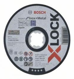 DISCO CORTE X-LOCK EXPERT INOX 125X1MM 2608619264