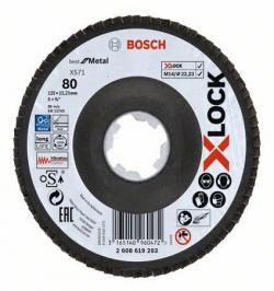 DISCO X-LOCK BEST MET X571 125 CONC PLATO FV G80 2608619203