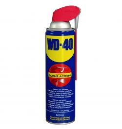 LUBRICANTE MULTIUSOS WD40 DOBLE ACCION 500 ML