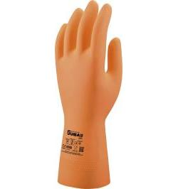 GUANTE LATEX 1MM NARANJA 621C 9