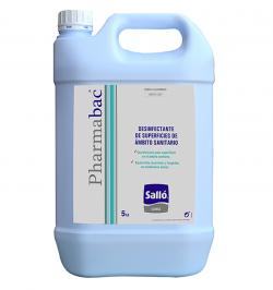 DESINFECTANTE DE SUPERFICIES PHARMABAC GARRAFA 5KG
