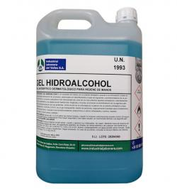 GEL DESINFECTANTE OXA-GEL HIDROALCOHOL 5KG