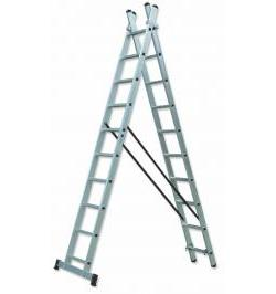 ESCALERA TRANSFORMABLE DOBLE TR2-9X2 74-114