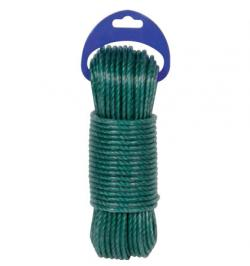 CABLE DE ACERO PLASTIFICADO VERDE 3,5MM-20MT