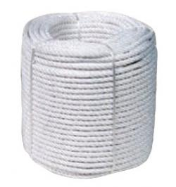 CUERDA CABLEADA NYLON MATE 12MM/100MT BCO