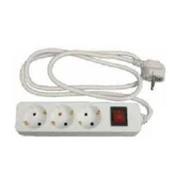 BASE MULTIPLE CON INTERRUPTOR IP20 3GX1,5MM 1,5MTS 3 BASES