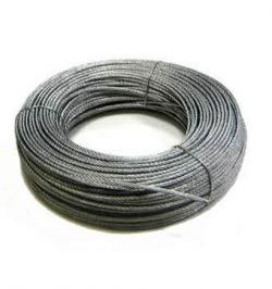 CABLE ACERO GALVA 6X7+1-2MM R50MT
