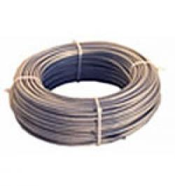 CABLE ACERO GALVA PLASTIFICADO 6X7+1 2X4 R50MT