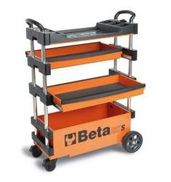 CARRO COMPACTO Y EXTENSIBLE C27S-O ORANGE