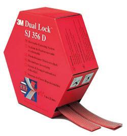 CINTA DUAL LOCK SJ356D 2 TIRAS 25MMX5M