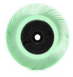 CEPILLO RADIAL BRISTLE TIPO C(BB-ZB)150MM VERDE CLARO
