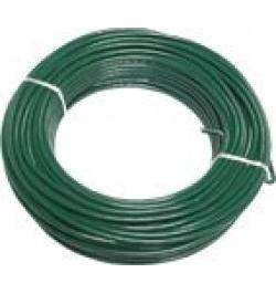 ALAMBRE PLASTIFICADO VERDE ROLLO 10MT
