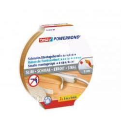 CINTA TESA POWERBOND SLIM 55714 2U 5MX9MM