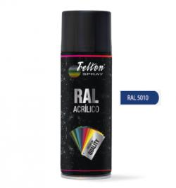 SPRAY ACRILICO 400ML RAL 5010 AZUL GENCIANA