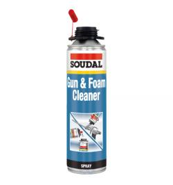 GUN&FOAM CLEANER TRANSP 500ML