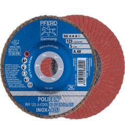 DISCO POLIFAN PFF 125 A-COOL 40 SG INOX+ALU