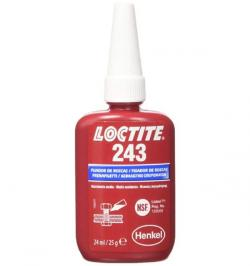LOCTITE 243 FIJADOR RESIST MEDIA ACEITAD BOTELLA/BLIST 24ML