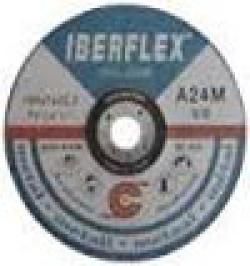 DISCO DESBASTE IBERFLEX HIERRO 125X7X22