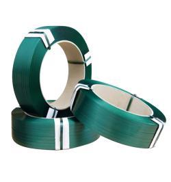 FLEJE PLASTICO PET 19X0,8 VERDE R1000MT