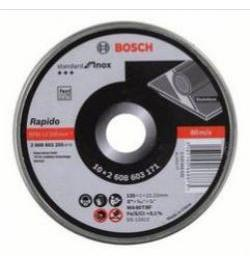 LATA 10 DISCOS STANDARD INOX 115X1MM 2608603254