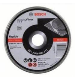 LATA 10 DISCOS STANDARD INOX 125X1MM 2608603255