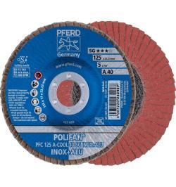 DISCO POLIFAN PFC 125 A-COOL 40 SG INOX+ALU