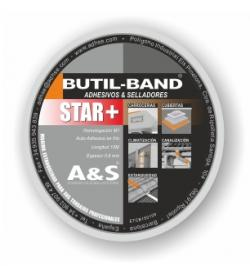 BUTIL-BAND STAR+ALU 75MMX0,8MM