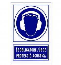 SEÑAL OBLIGACION 129 PVC 1MM 297X210 CATALAN