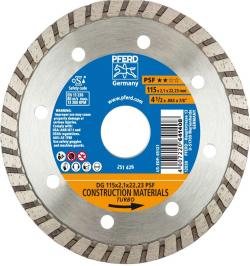 DISCO DIAMANTE CONTINUO DG 115-22,2 PSF