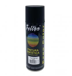 SPRAY ESMALTE SINTETICO 400ML NEGRO SATINADO