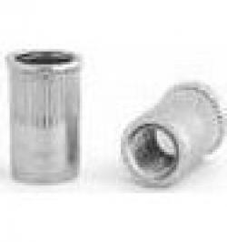 TUERCA REMACHABLE SARIV ACERO C/REDUCIDA M-8X16