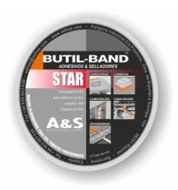 BUTIL-BAND STAR ALU 50MMX0.6MM (10MT)