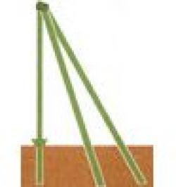 POSTE ESQUINERO VERDE 48X1,5 C/ACC 1,2MT