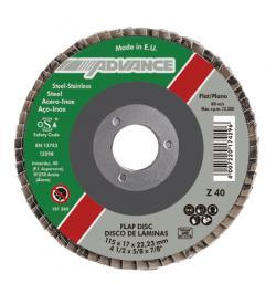 DISCO LAMINAS ADVANCE CONICO 125-22 G40