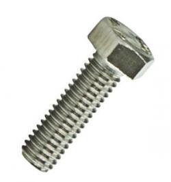 TORNILLO DIN 933 INOX A2 20X 30